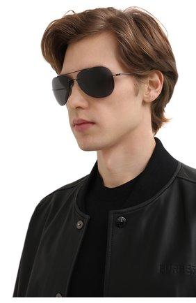 Мужские солнцезащитные очки SILHOUETTE черного цвета, арт. 8721/9140 | Фото 2
