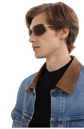 Мужские солнцезащитные очки SILHOUETTE коричневого цвета, арт. 8723/7530 | Фото 2