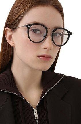 Женские оправа FENDI черного цвета, арт. M0050 ANS   Фото 2