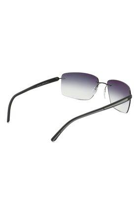 Мужские солнцезащитные очки SILHOUETTE черного цвета, арт. 8722/9140 | Фото 4