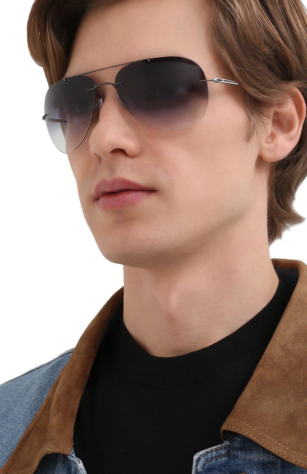 Мужские солнцезащитные очки SILHOUETTE  цвета, арт. 8721/6560   Фото 2