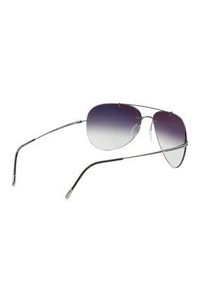 Мужские солнцезащитные очки SILHOUETTE  цвета, арт. 8721/6560   Фото 4