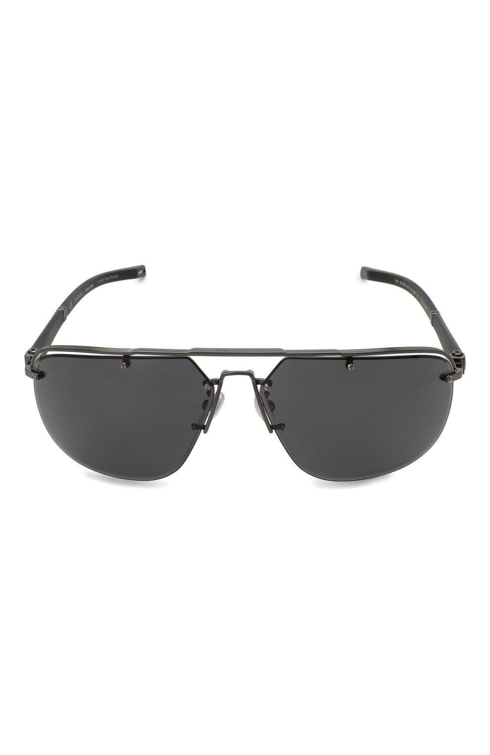 Мужские солнцезащитные очки CHOPARD черного цвета, арт. F23 568P | Фото 3