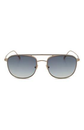 Мужские солнцезащитные очки TOM FORD золотого цвета, арт. TF827 28B | Фото 3