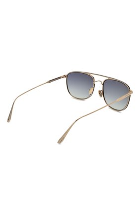 Мужские солнцезащитные очки TOM FORD золотого цвета, арт. TF827 28B | Фото 4