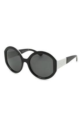 Женские солнцезащитные очки PRADA черного цвета, арт. 22XS-YC45S0   Фото 1