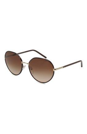 Женские солнцезащитные очки PRADA коричневого цвета, арт. 65XS-2AU6S1 | Фото 1