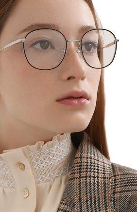 Женские оправа PRADA серебряного цвета, арт. 53WV-524101 | Фото 2