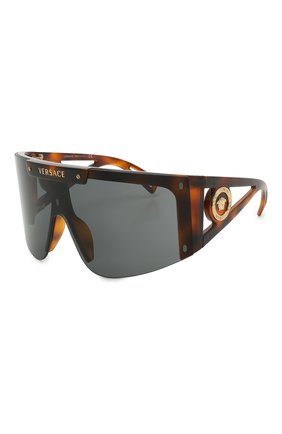 Женские солнцезащитные очки VERSACE коричневого цвета, арт. 4393-52171W | Фото 5