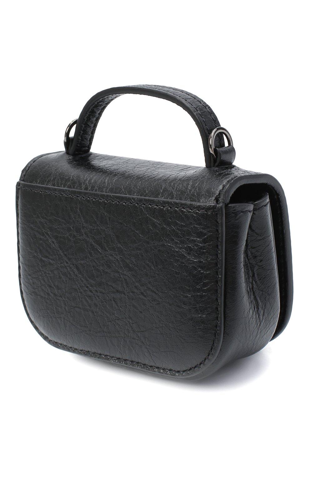 Женская сумка supervee VALENTINO черного цвета, арт. UW0P0U95/JHG   Фото 3