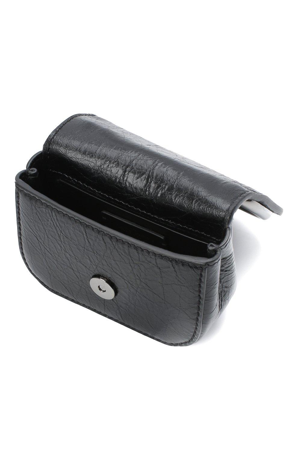 Женская сумка supervee VALENTINO черного цвета, арт. UW0P0U95/JHG   Фото 4