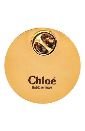 Женская значок CHLOÉ разноцветного цвета, арт. CHC20WFP06BZL | Фото 2 (Материал: Металл)