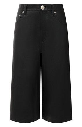 Женские кожаные шорты RAG&BONE черного цвета, арт. WCW20F7004LE04 | Фото 1