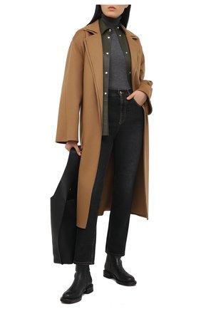 Женские кожаные ботинки PREMIATA черного цвета, арт. M5929/FRAMIRE`0P+GAUCH0   Фото 2