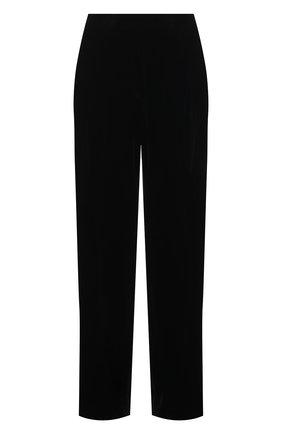 Женские брюки из вискозы и шелка DOROTHEE SCHUMACHER черного цвета, арт. 147901/VELVET SHIMMER | Фото 1