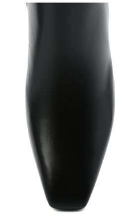 Женские кожаные ботильоны valentino garavani rockstud VALENTINO черного цвета, арт. VW2S0BA7/XGR | Фото 5