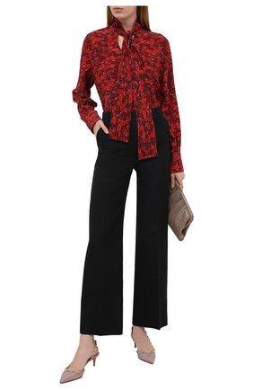 Женские кожаные туфли valentino garavani rockstud VALENTINO бежевого цвета, арт. VW2S0H14/V0D | Фото 2