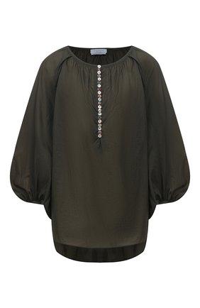 Женская блузка DEVEAUX NEW YORK зеленого цвета, арт. F203-301-SM20 | Фото 1
