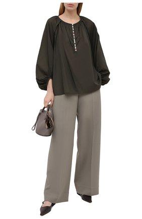Женская блузка DEVEAUX NEW YORK зеленого цвета, арт. F203-301-SM20 | Фото 2