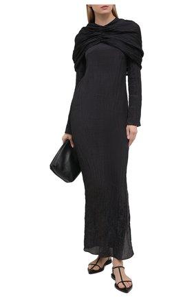 Женское платье DEVEAUX NEW YORK черного цвета, арт. F203-801-SM19 | Фото 2