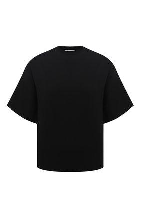 Женская футболка DEVEAUX NEW YORK черного цвета, арт. W201-600-AG4 | Фото 1