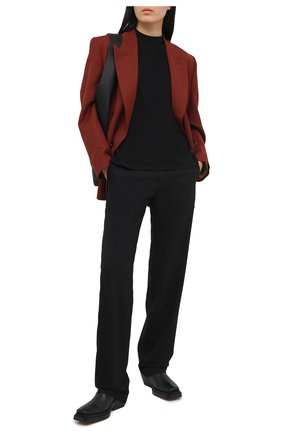 Женская футболка DEVEAUX NEW YORK черного цвета, арт. W201-600-AG4 | Фото 2