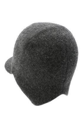 Мужской кашемировая бейсболка wellington CANOE темно-серого цвета, арт. 4915511 | Фото 2