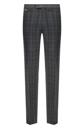 Мужские шерстяные брюки ZILLI сиреневого цвета, арт. M0U-40-38P-D6506/0001 | Фото 1