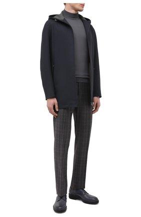 Мужские шерстяные брюки ZILLI сиреневого цвета, арт. M0U-40-38P-D6506/0001 | Фото 2