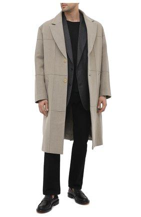 Мужские кожаные пенни-лоферы VALENTINO черного цвета, арт. VY2S0C42/PMF | Фото 2