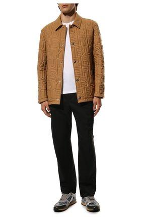 Мужские комбинированные кроссовки rockrunner VALENTINO серого цвета, арт. VY2S0723/TCC | Фото 2