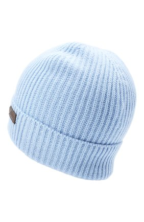 Мужская кашемировая шапка BRIONI голубого цвета, арт. 04M80L/09K38 | Фото 2