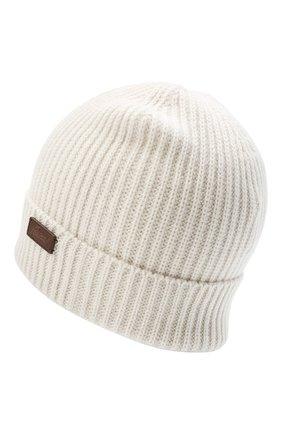 Мужская кашемировая шапка BRIONI кремвого цвета, арт. 04M80L/09K38 | Фото 2