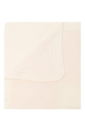 Детского кашемировое одеяло LORO PIANA светло-розового цвета, арт. FAI7362 | Фото 1