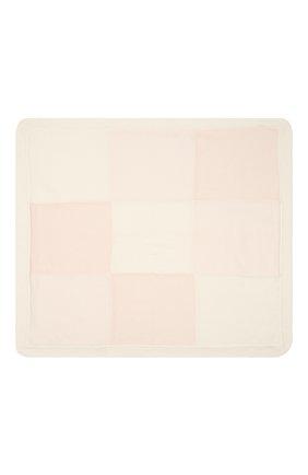 Детского кашемировое одеяло LORO PIANA светло-розового цвета, арт. FAI7362 | Фото 2