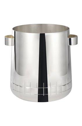Ведро для шампанского graphik CHRISTOFLE серебряного цвета, арт. 04240442 | Фото 1