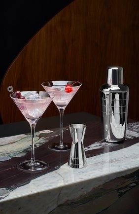 Ведро для шампанского graphik CHRISTOFLE серебряного цвета, арт. 04240442 | Фото 2