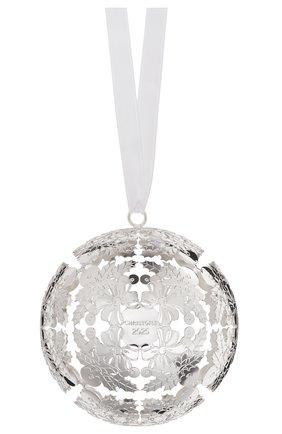 Елочная игрушка foret royale 2020 CHRISTOFLE серебряного цвета, арт. 04254649 | Фото 1