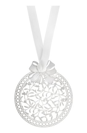 Елочная игрушка misteltoe bouquet CHRISTOFLE серебряного цвета, арт. 04254652 | Фото 1