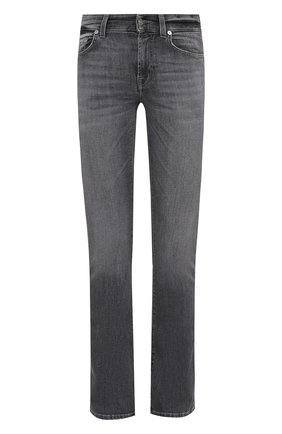 Женские джинсы 7 FOR ALL MANKIND серого цвета, арт. JSWBU790SG | Фото 1