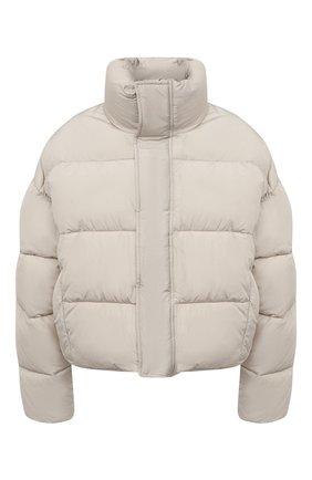 Женская пуховая куртка BALENCIAGA кремвого цвета, арт. 642227/TYD36   Фото 1