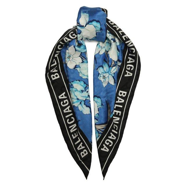 Шелковый платок Balenciaga