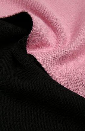 Женский шерстяной шарф BALENCIAGA розового цвета, арт. 646517/T1594 | Фото 2