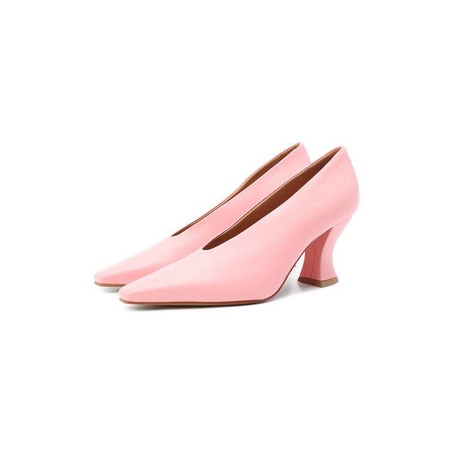 Кожаные туфли Almond Bottega Veneta