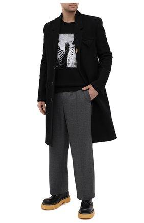 Мужские кожаные ботинки bounce BOTTEGA VENETA черного цвета, арт. 651256/V00H0 | Фото 2 (Материал внутренний: Натуральная кожа; Материал внешний: Кожа; Мужское Кросс-КТ: Ботинки-обувь; Подошва: Массивная; Каблук высота: Высокий)