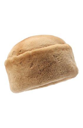 Женская шапка джулия из меха норки FURLAND бежевого цвета, арт. 0034600150019300000   Фото 1