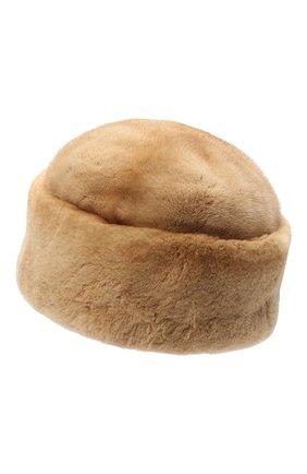Женская шапка джулия из меха норки FURLAND бежевого цвета, арт. 0034600150019300000   Фото 2