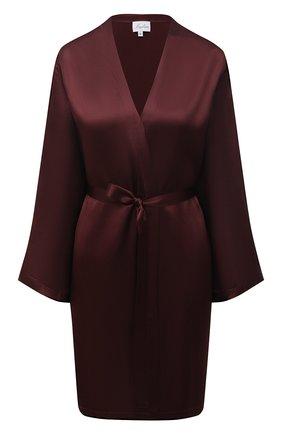 Женский халат MARJOLAINE бордового цвета, арт. Laser | Фото 1