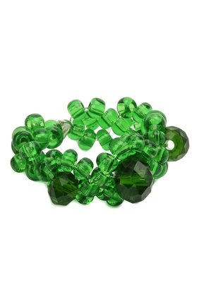 Женское кольцо хэппи нью йер HIAYNDERFYT зеленого цвета, арт. 1421.1.1 | Фото 1