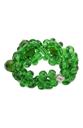 Женское кольцо хэппи нью йер HIAYNDERFYT зеленого цвета, арт. 1421.1.1 | Фото 2